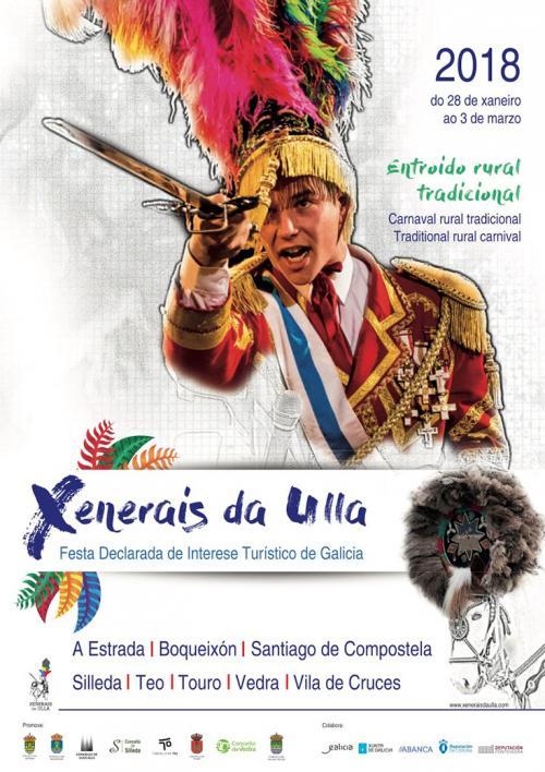 Xenerais da Ulla, ( Comarca ) 2018