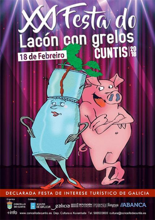 Festa Lacón con grelos, Cuntis